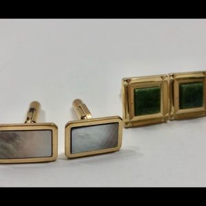 Other - Two Pair Vintage Cuff Links